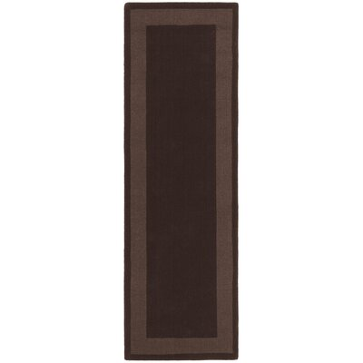 Transitions Chocolate Border Rug
