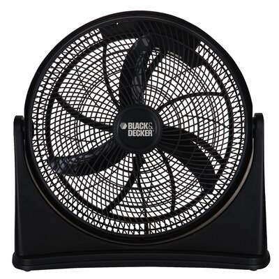 "Ragalta Black and Decker 16"" High Velocity Floor Fan"