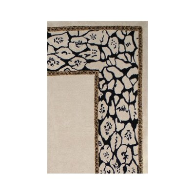 American Home Rug Co. African Safari Animal Skin Border Rug