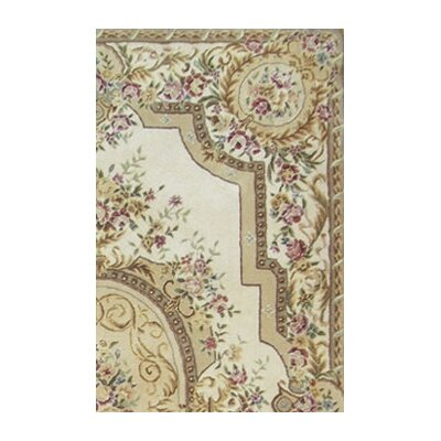 American Home Rug Co. French Elegance Ivory Aubusson Rug