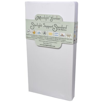 Moonlight Slumber Starlight Support Standard All Foam Crib Mattress