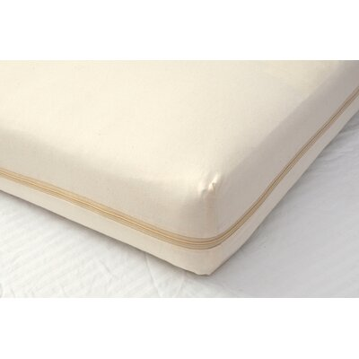 All-in-One Organic Cotton Crib Mattress Coverlet
