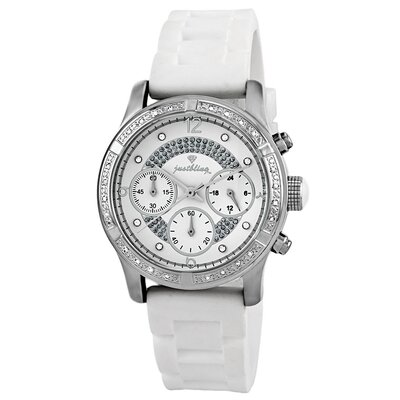 JBW Women's Venus Watch in White Silicone