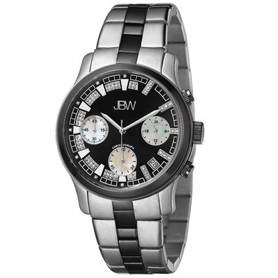 Women's Alessandra Watch in Silver / Black