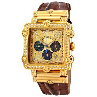 Men's Hollywood Watch in Brown