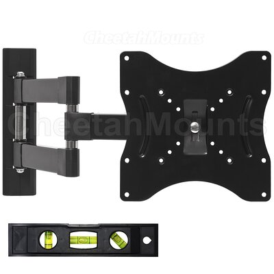 "Cheetah Mounts Articulating Arm/Tilt/Swivel Wall Mount for 23"" - 32"" Screens"