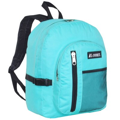 Backpack with Front Mesh Pocket