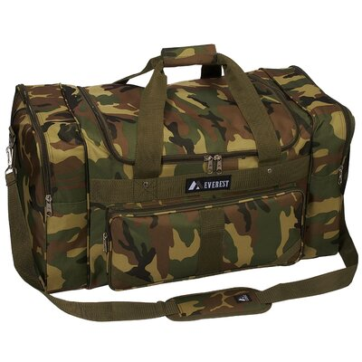 "Everest 27"" Jungle Camo Print Duffel"