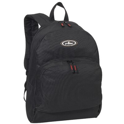 "Everest 17"" Classic Backpack with Front Organizer"