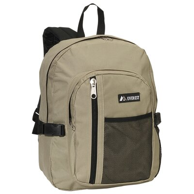 Front Mesh Pocket Backpack