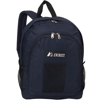 "Everest 17"" Backpack with Front and Side Pockets"
