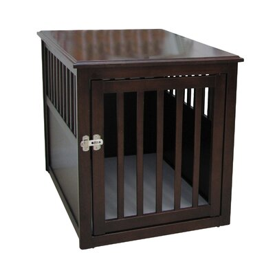 crown pet products crown pet crate end table reviews wayfair