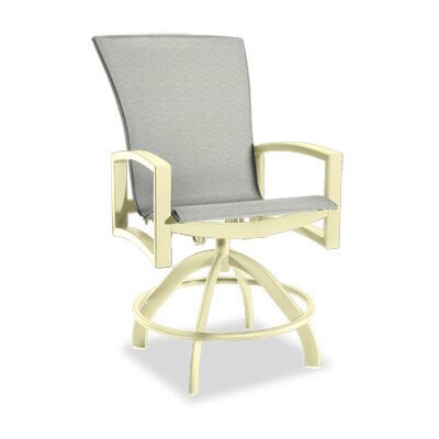 Homecrest Outdoor Havenhill Sling Swivel Rocker Balcony Stool