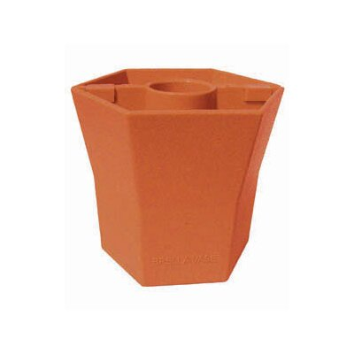 Blue Star Group Brella Square Vase Planter