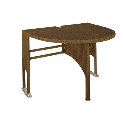 Blue Star Group Terrace Mates Genevieve Half Oval Dining Table