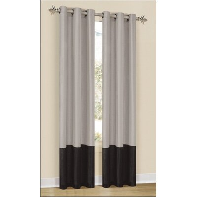 DR International Britney Grommet Curtain Single Panel