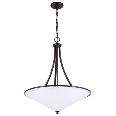 DVI Valletta 3 Light Inverted Pendant