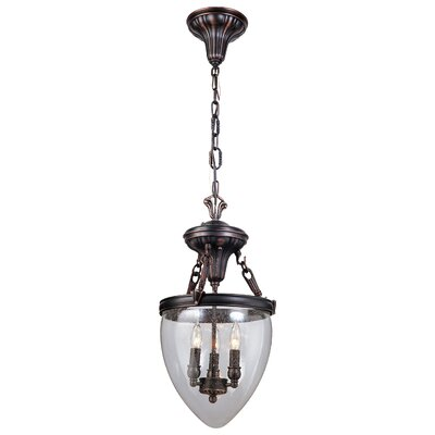 High Park 3 Light Foyer Pendant