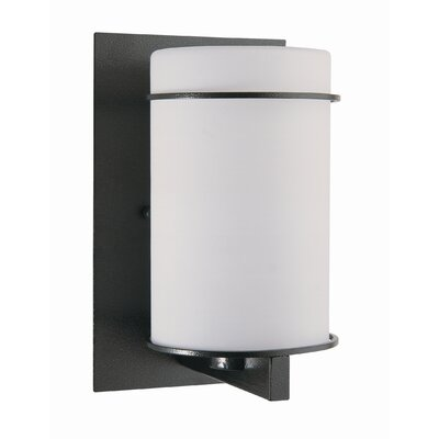 "DVI Percussion 8"" One Light Outdoor Wall Sconce"