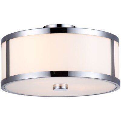 DVI Uptown 3 Light Semi Flush Mount