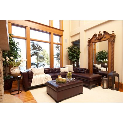 Elements Fine Home Furnishings Chateau Leather Sectional