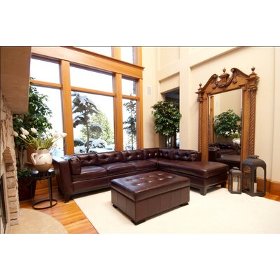 Chateau Leather Sectional