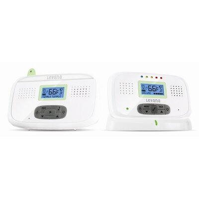 Levana Digital Video Baby Monitor with Talk-To-Baby Intercom and Temperature Sensor