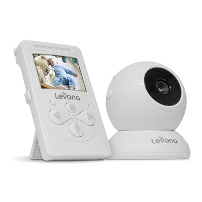 Levana Lila Digital Baby Video Monitor with Night Vision and Talk to Baby Intercom