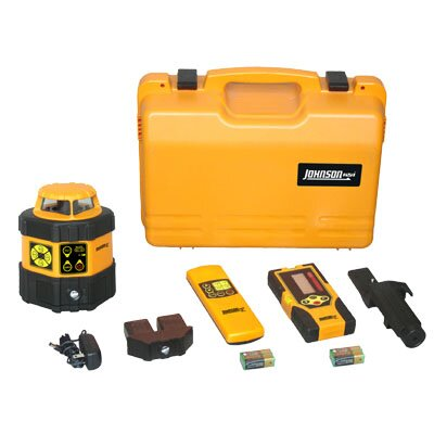 Johnson Level and Tool Electronic Self-Leveling Horizontal Rotary Laser Kit