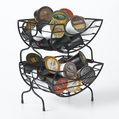 Single Serve Coffee Baskets in Satin Black