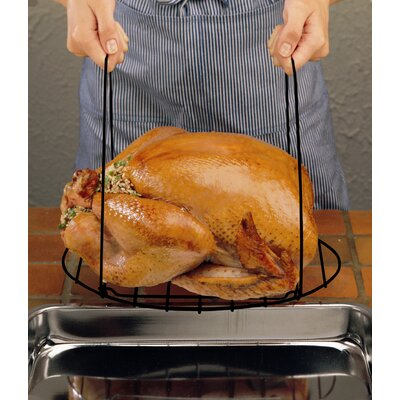 Nifty Home Products Non Stick Gourmet Turkey Lifter