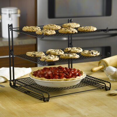 Nifty Home Products Non Stick Three Tier Cooling Rack