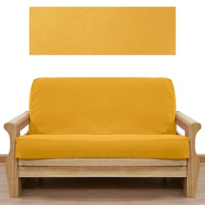 Easy Fit Ultra Suede Gold Yellow Futon Cover