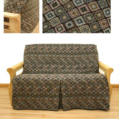 Easy Fit Navajo 5 Piece Full Skirted Futon Cover Set