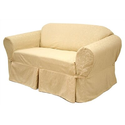 Easy Fit Damask Sofa Slipcover