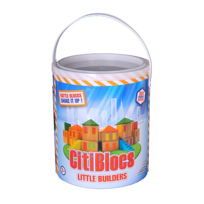 Citiblocs Little Builders Rattle Building Block Set