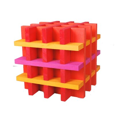 Citiblocs 100 Piece Building Block Set in Hot Colors