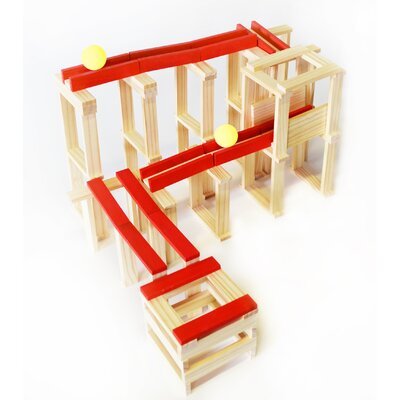 Citiblocs 120 Piece Roller Coaster Fun Construction Set