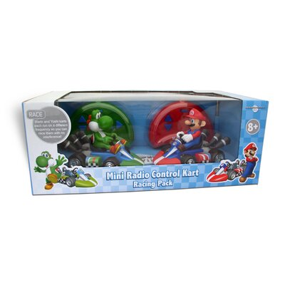 Super Mario Mini Kart Racer (Set of 2)
