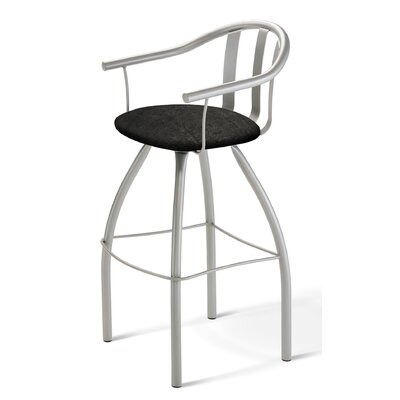"Amisco Mae 30"" Swivel Barstool"