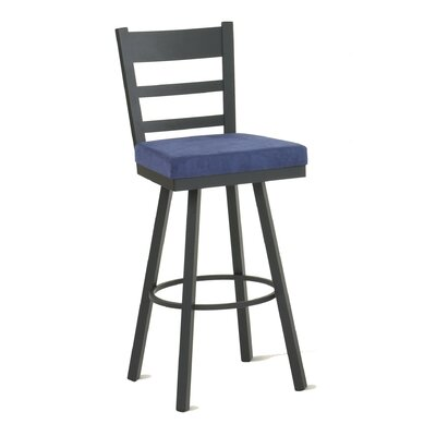 "Amisco Owen 26"" Swivel Counter Stool"