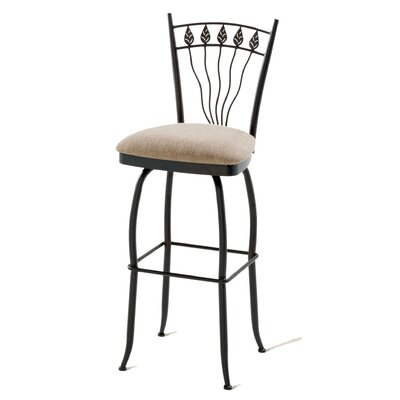 "Amisco Romy 30"" Swivel Counter Stool"