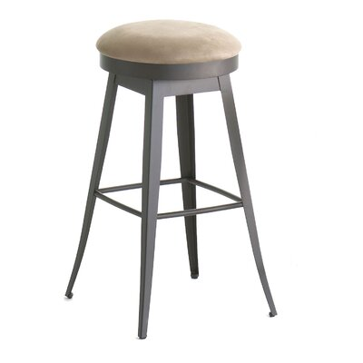 "Amisco Grace 30"" Swivel Barstool"