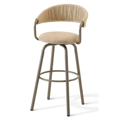 "Amisco Emi 30"" Swivel Bar Stool"