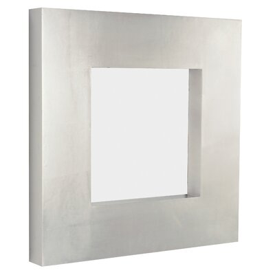 Majestic Mirror Contemporary Square Wall Mirror