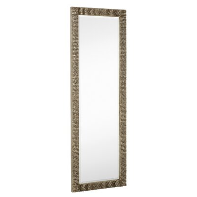 Traditional Rectangular Bevel Floor Mirror