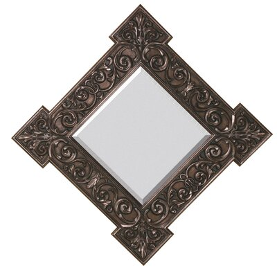 Traditional Square Bevel Wall Mirror