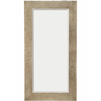 Contemporary Beveled Mirror with Black Undercoat in Antique Silver