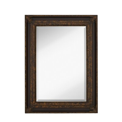 Majestic Mirror Traditional Rectangular Bevel Wall Mirror