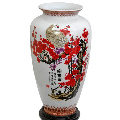 <strong>Oriental Furniture</strong> Tung Chi Vase